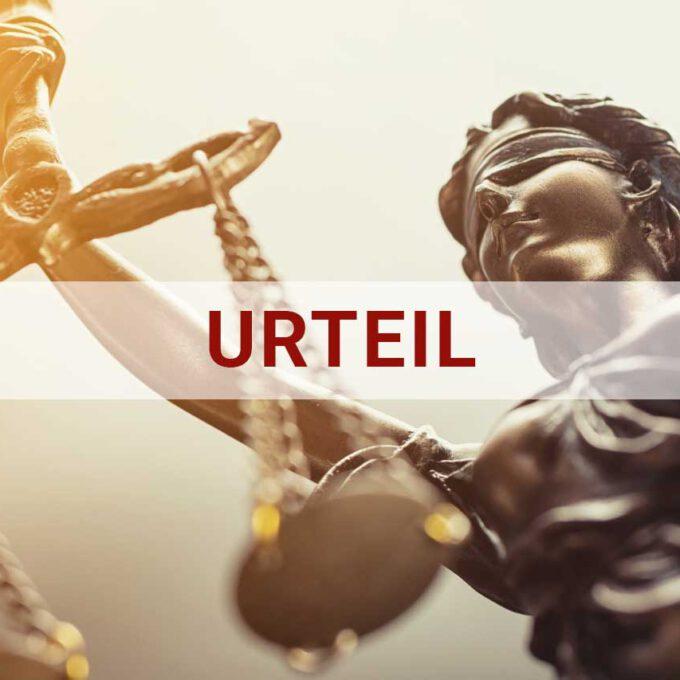 Justitia Urteil